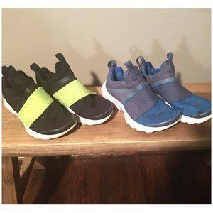 2 PAIR! Boys Nike Presto Extreme